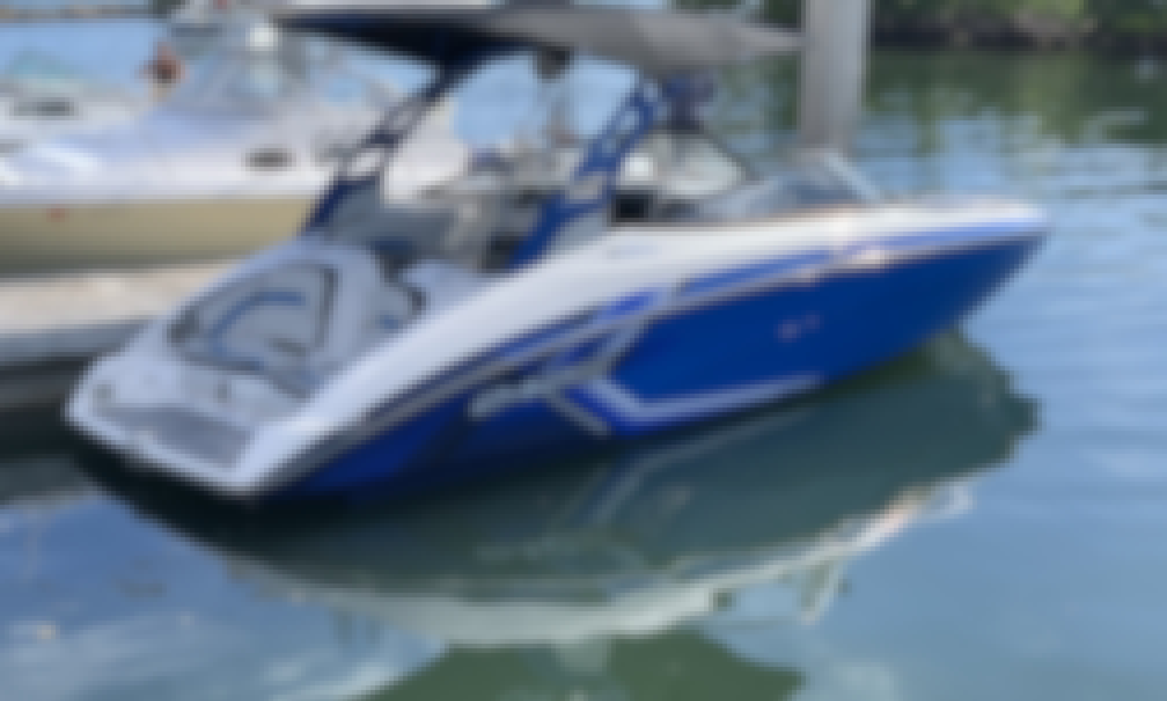 AR 242x Bowrider - Delivered to a Boat Ramp near You!