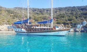 Private Charter for Blue Cruise onboard Sailing Gulet for 10 people in Bodrum