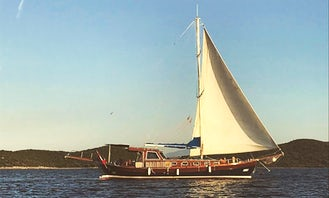 Private Voyage in Bodrum onboard Tirhandil BS / 2 Cabinned for 4 people