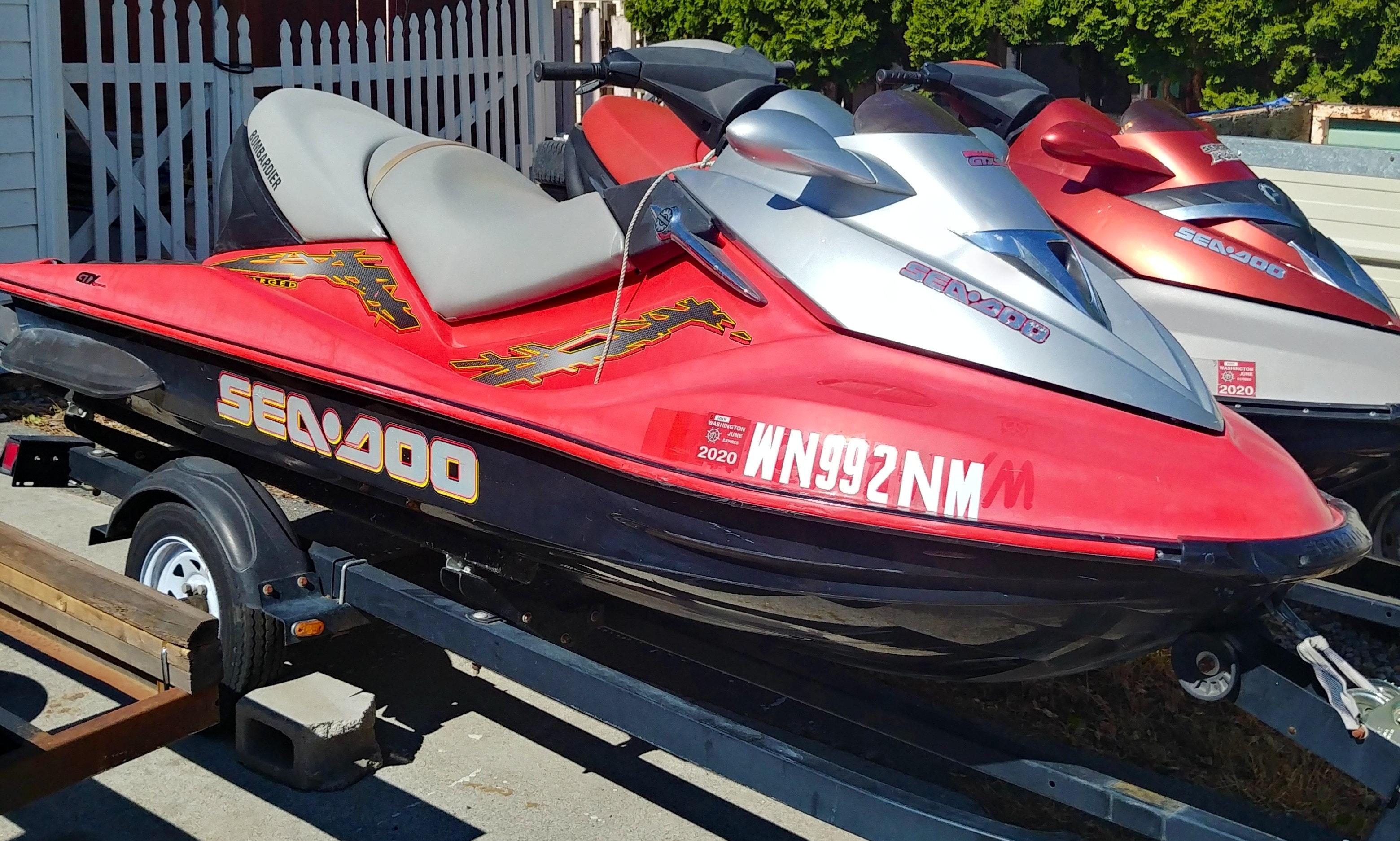 Affordable Jet Ski Rental Free Delivery In Moses Lake Banks Lake Lake Roosevelt Getmyboat