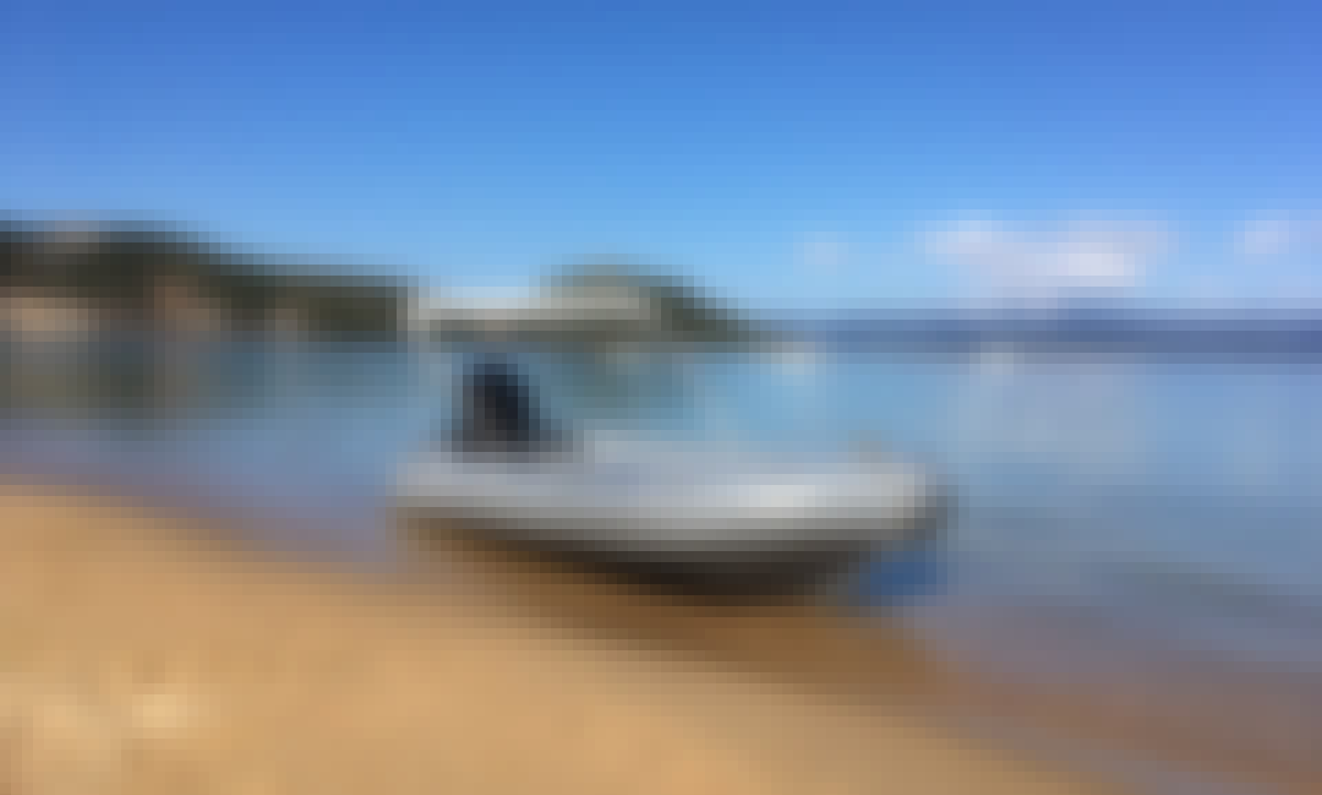 Motor Boat Rental Fun Yak 390 at Campomoro