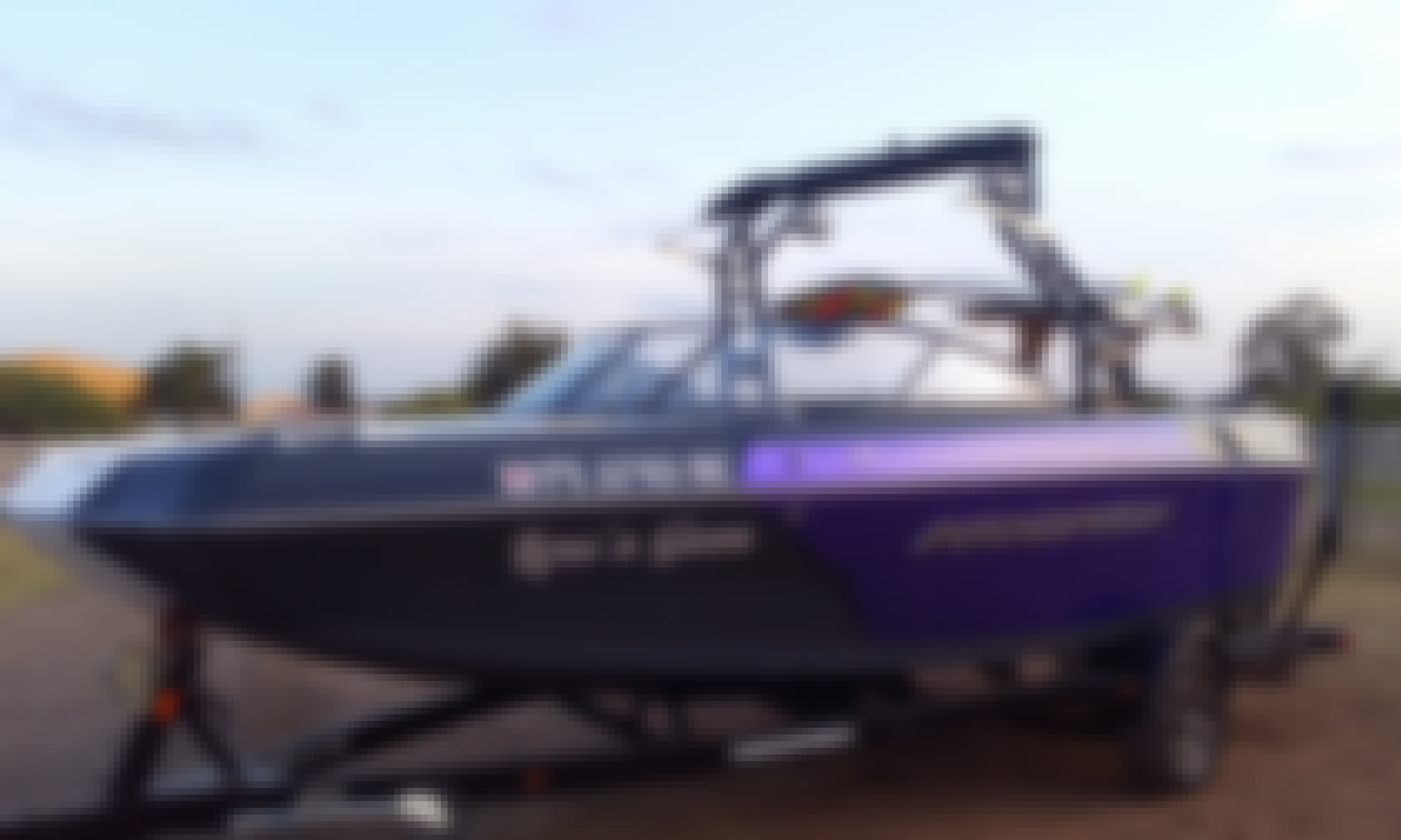 Fun in Georgetown with this 2018 Moomba Helix
