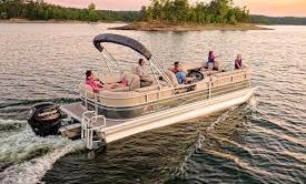 2017 Sun tracker Party Barge Tri-toon for Rent in Denver