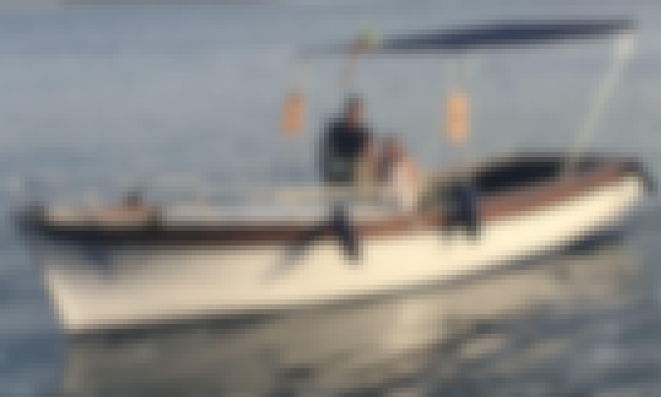 Boat experience, traditional wooden fisherboat Lipari, Sicilia
