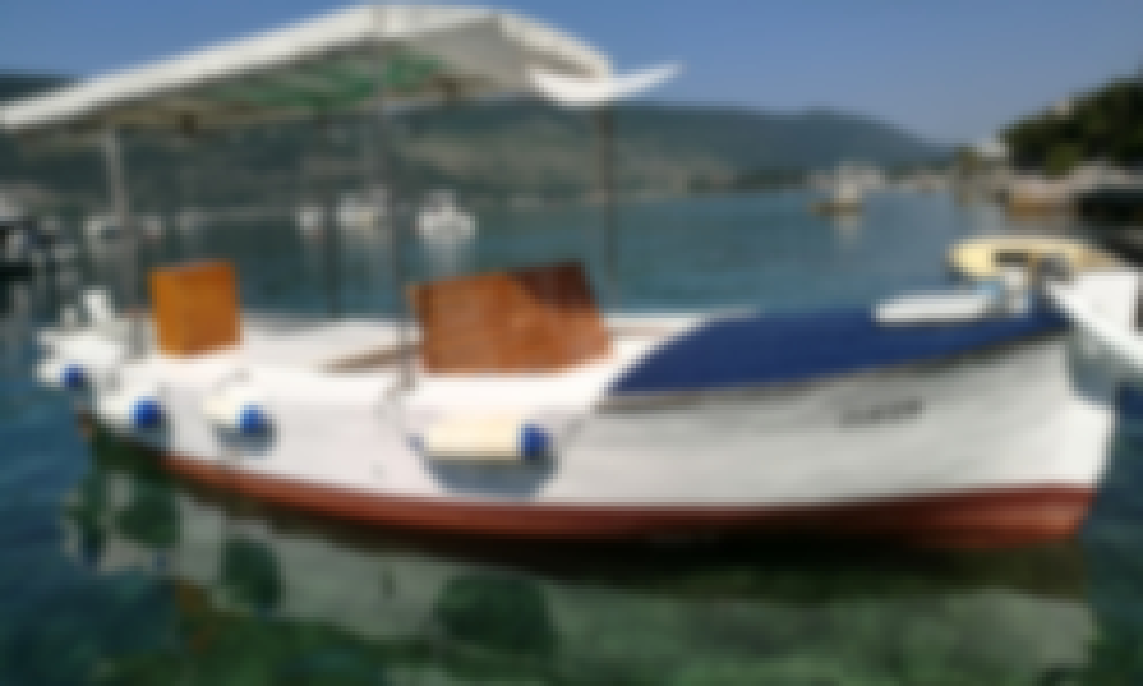18 foot Mediterranean boat for rent in Herceg - Novi Montenegro