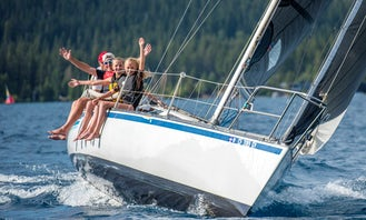 3 hour Sailing Experiences on North Lake Tahoe - $600