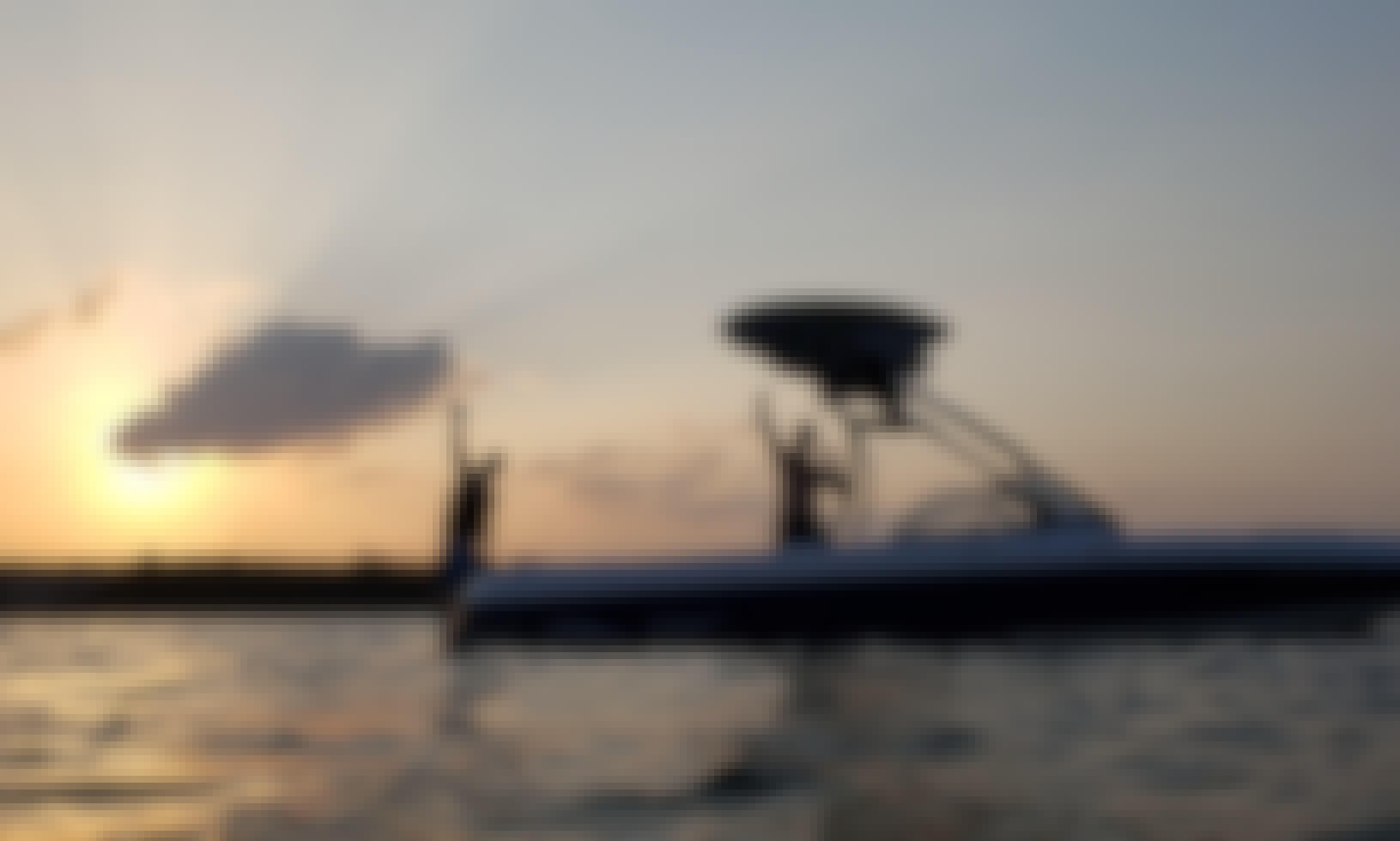 24ft Surf Boat Rental in Austin, Texas
