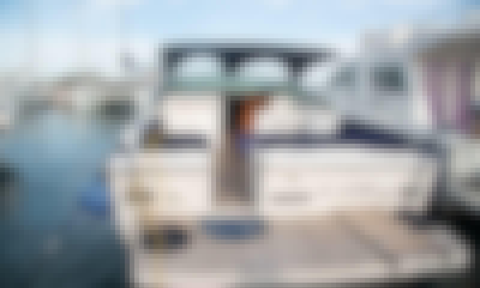 Tornado 38 Motor Yacht Rental in Trapani, Italy