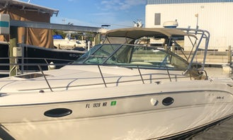Sea ray Amberjack 290 in Punta Gorda Florida!