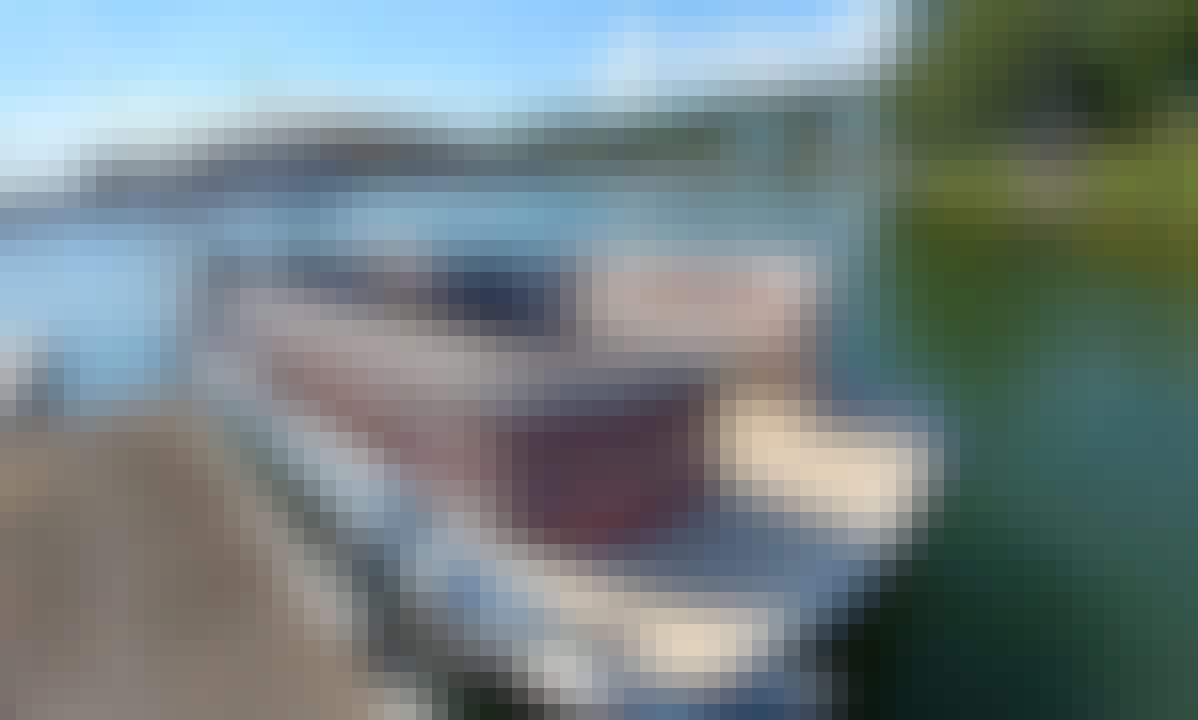 Pontoon Boat Rental on Lake Wedowee, Alabama