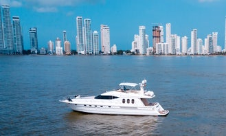 Deal of the month! Stunning Viking 70' for Rent in Cartagena, Colombia.