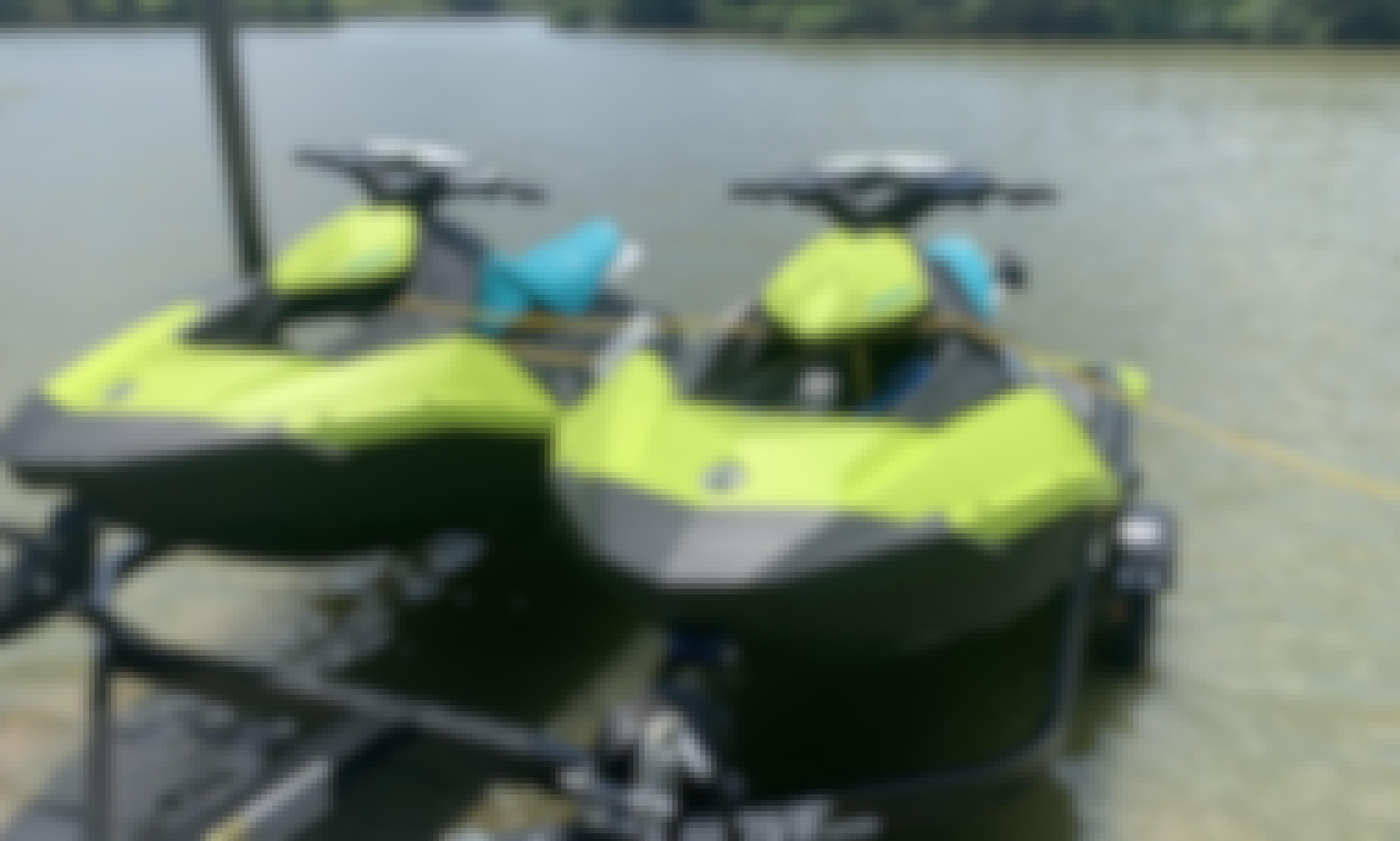 Seadoo Spark Jet Ski Rental in League City, Texas