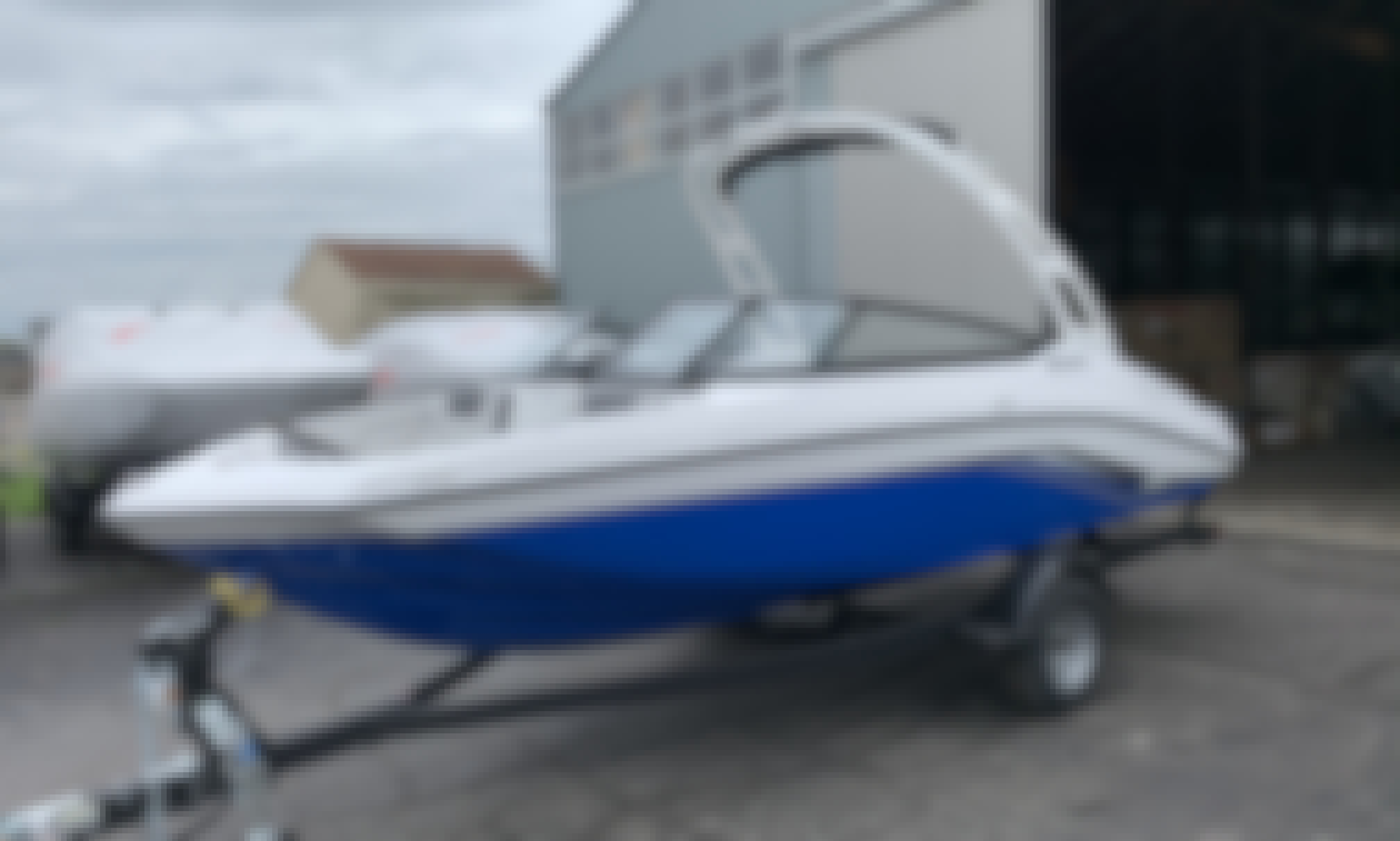 Yamaha AR190 Jetboat for 6 People in Detroit