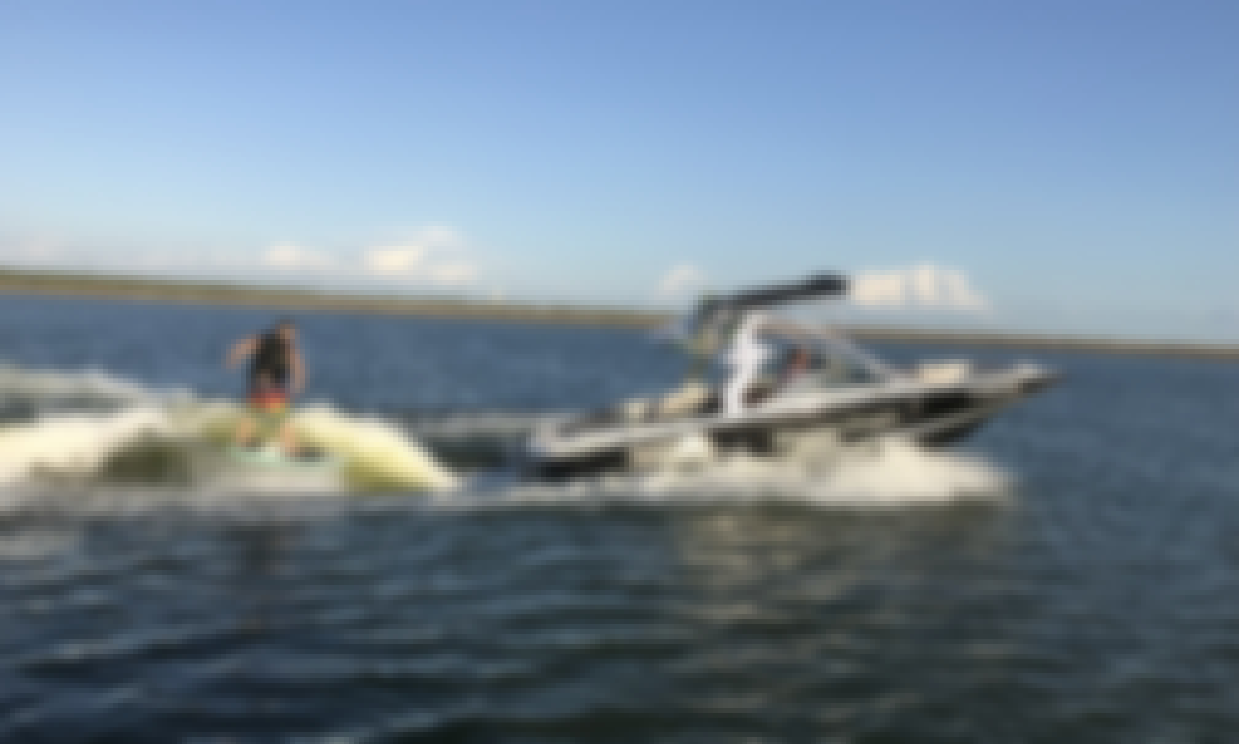 Wakesurf Boat for 12 People in Austin, Texas!