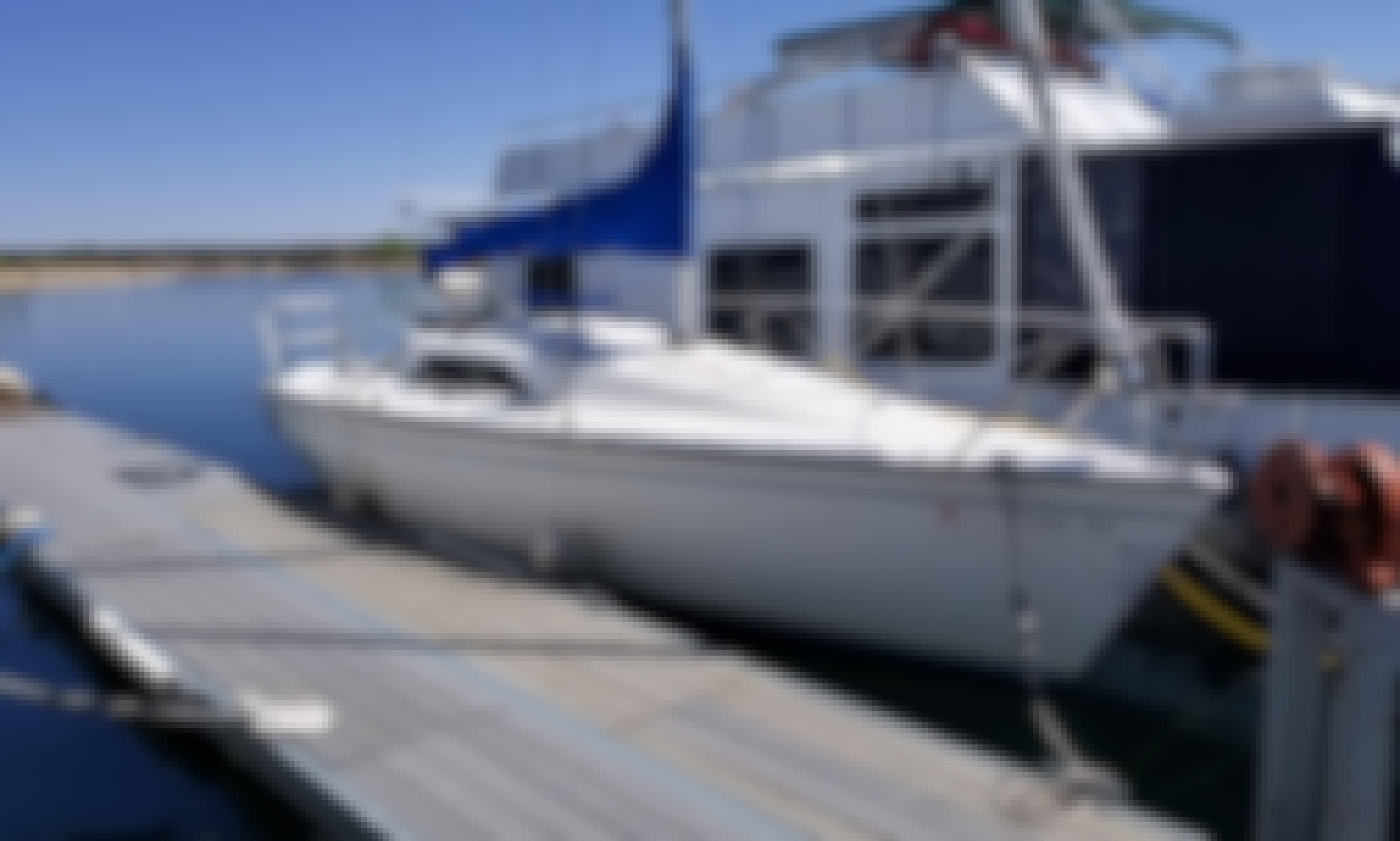 Easy to Sail Hunter 26.5' at Pueblo Reservoir