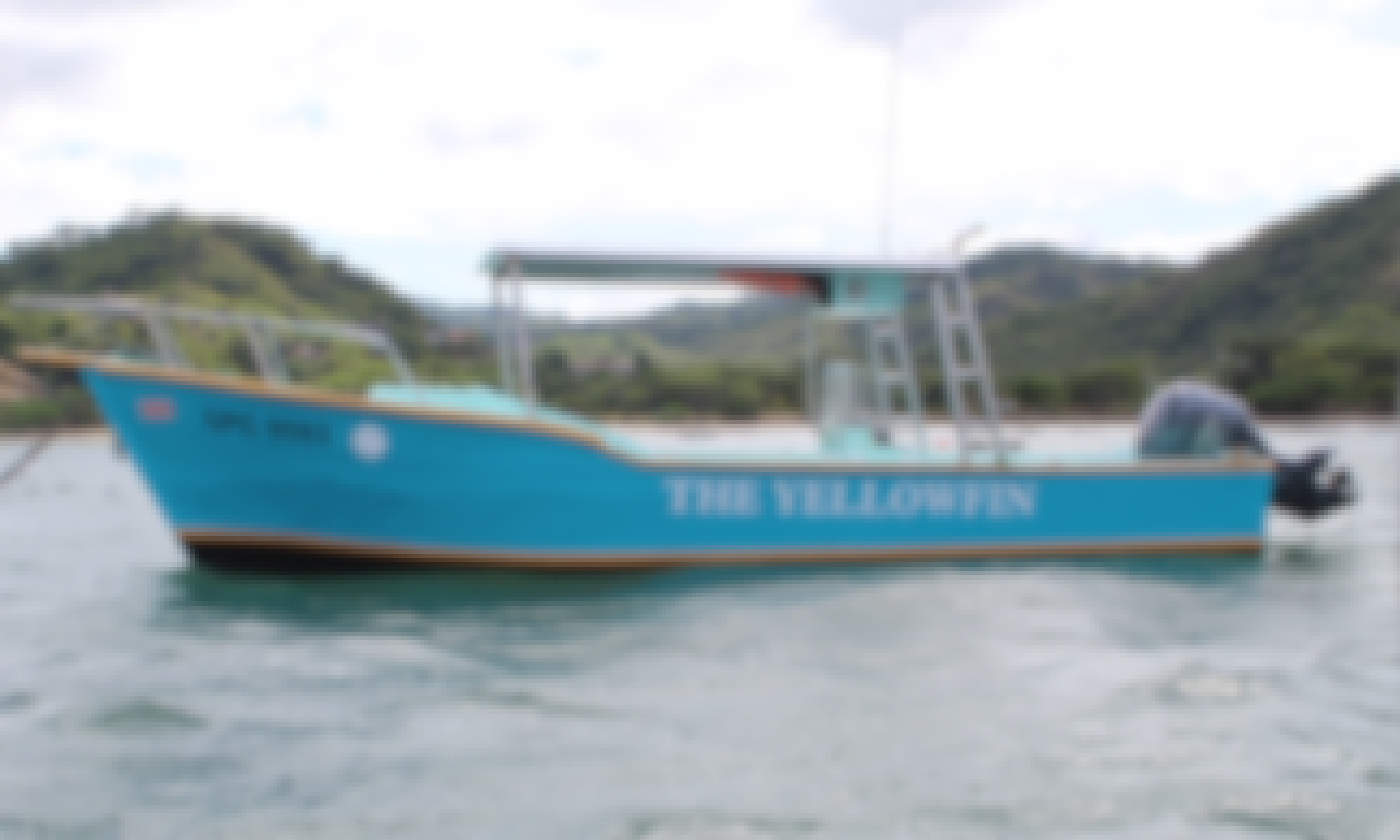 Private 3-Hours Snorkeling Experience in Playa Flamingo, Guanacaste onboard 27' Custom Made Boat!