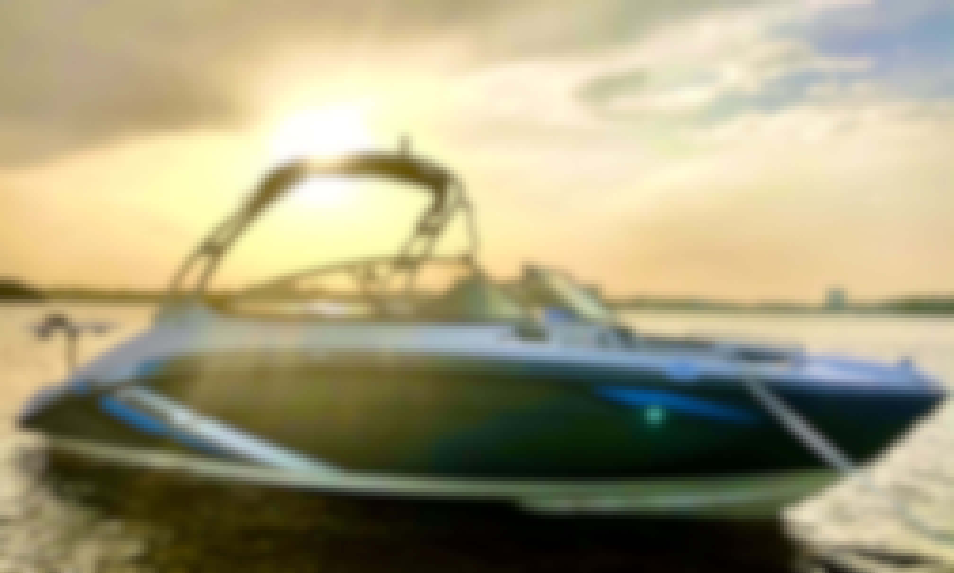 2020 JetBoat with Watersports Package