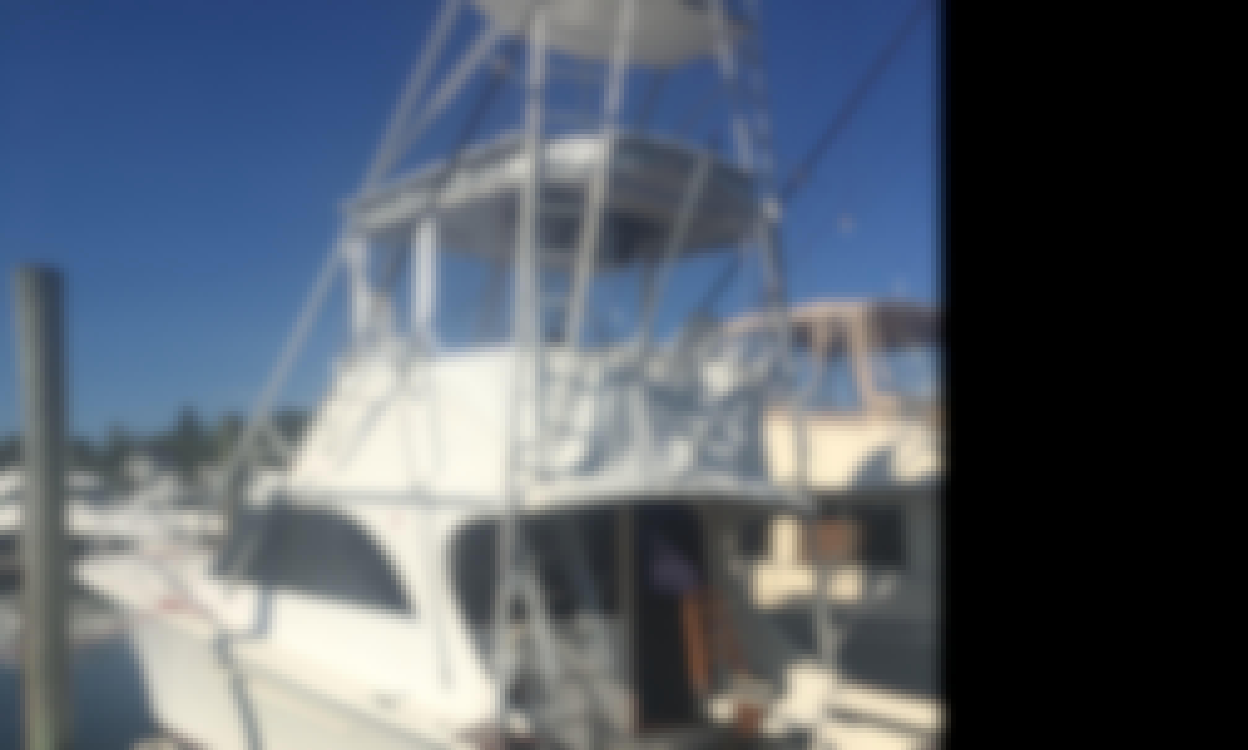 "Fishing Charter On 36 feet ""Reel Steal"" Yacht In Westerly, Rhode Island"