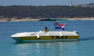Taxi Boat Rental in Medulin, Croatia!