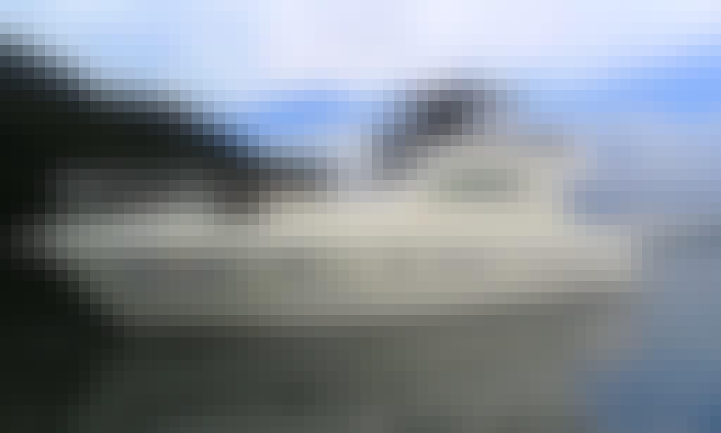 43' Elizabeth Motor Yacht Rental in Rio de Janeiro, Brazil