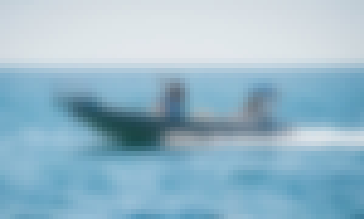 Speedboat Tours around the Rovinj Archipelago with Ragusa 750 RIB