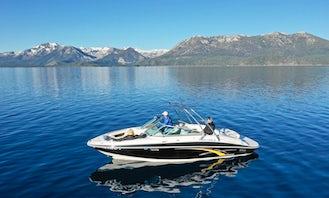 24' Four Winns Bowrider Rental in South Lake Tahoe, California