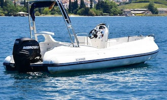 Rent this 8 People RIB Boat in Tivat, Montenegro