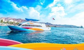 Aqua Star Glass Bottom Boat (Private Cruise) in Red Sea, Aqaba, Jordan