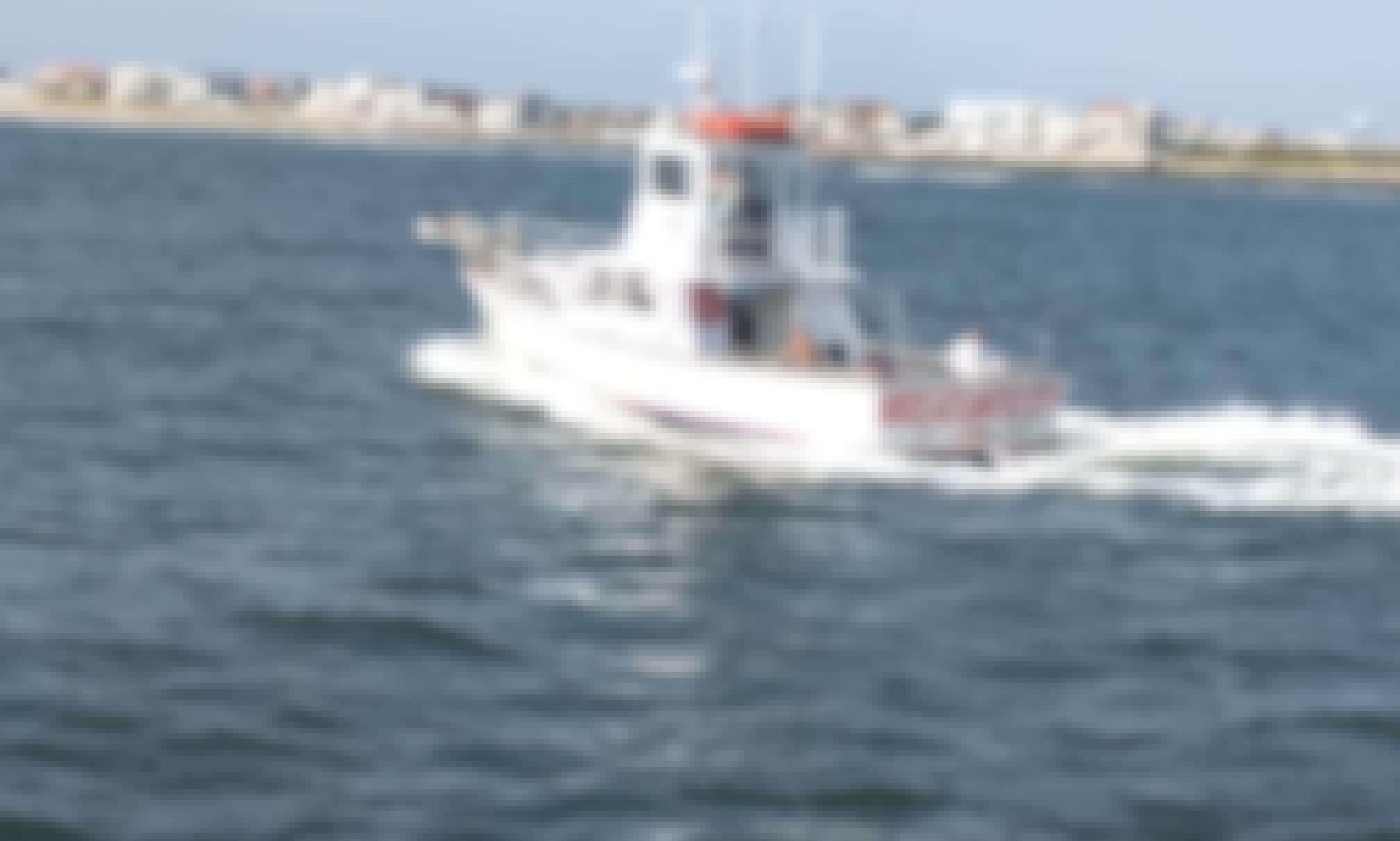 "Enjoy Fishing On ""Miss Atlantic City"" Yacht In Atlantic City, New Jersey"
