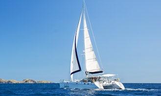 TORTOLA BVI - PRIVATE DAY SAILS ON 48' Privilege Catamaran Charter