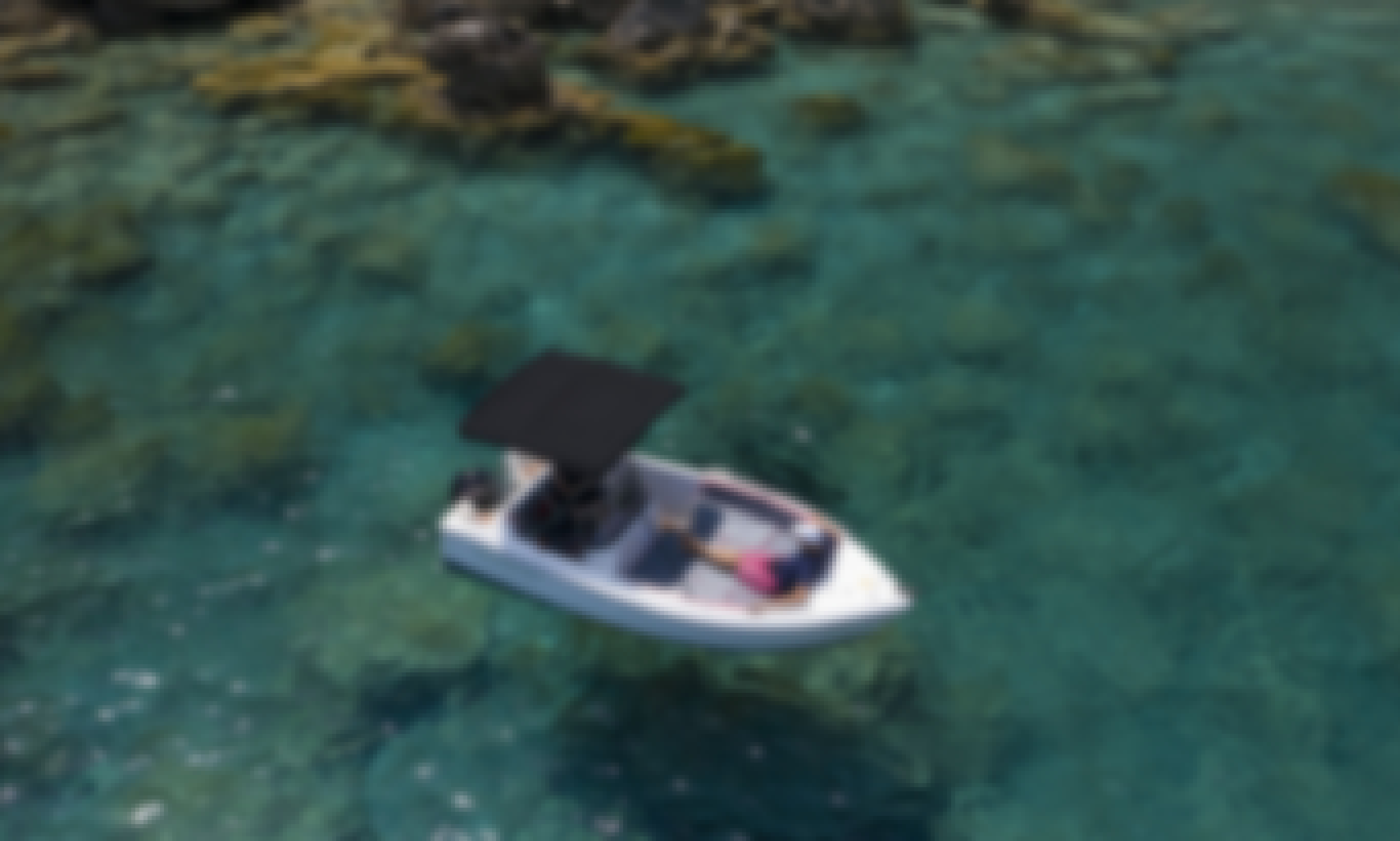 Pegazus 15HP no license boat for rent in Port d'Alcúdia, Mallorca
