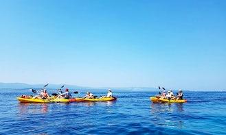 Sea Kayak Tour in Bol! Relaxing Morning Tour   Magnificent Sunset Tour
