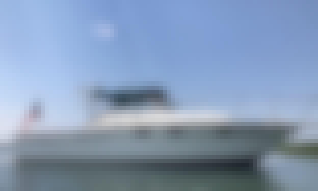 Amazing Lake Erie Fishing Charter on Tiara Open with Captain Robb