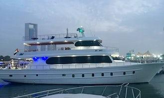 35 Person Yacht Charter yas Marina 33