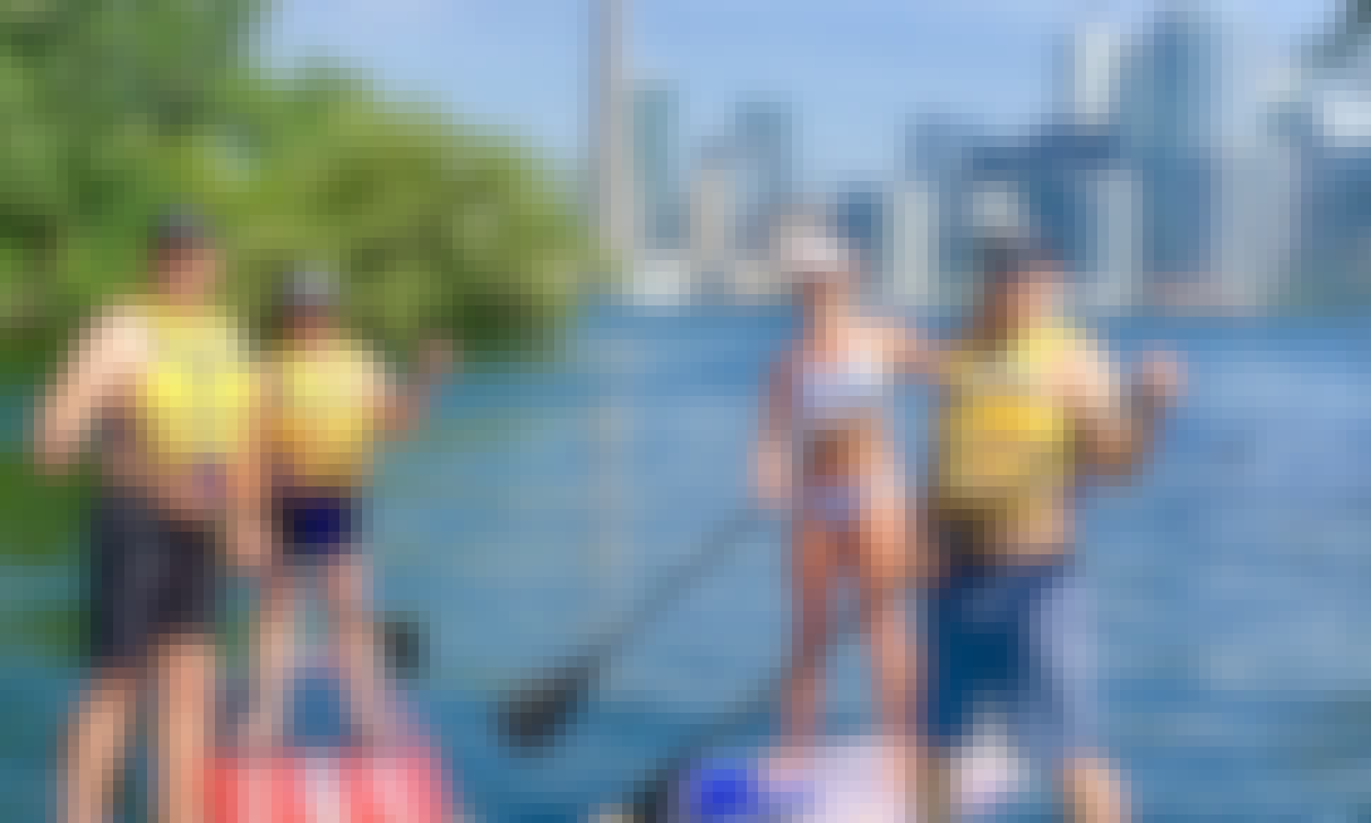 Intro To Paddle Boarding On Toronto Islands