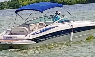 24' Crownline 240EX Powerboat for fun in the sun on Lewisville Lake!