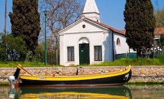 """Hire the 28' """"El Sultan"""" Bragozzo Traditional Venetian Boat in Venezia, Veneto"""