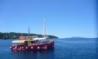 Party Boat Around Dubrovnik - Accommodate up to 82 People