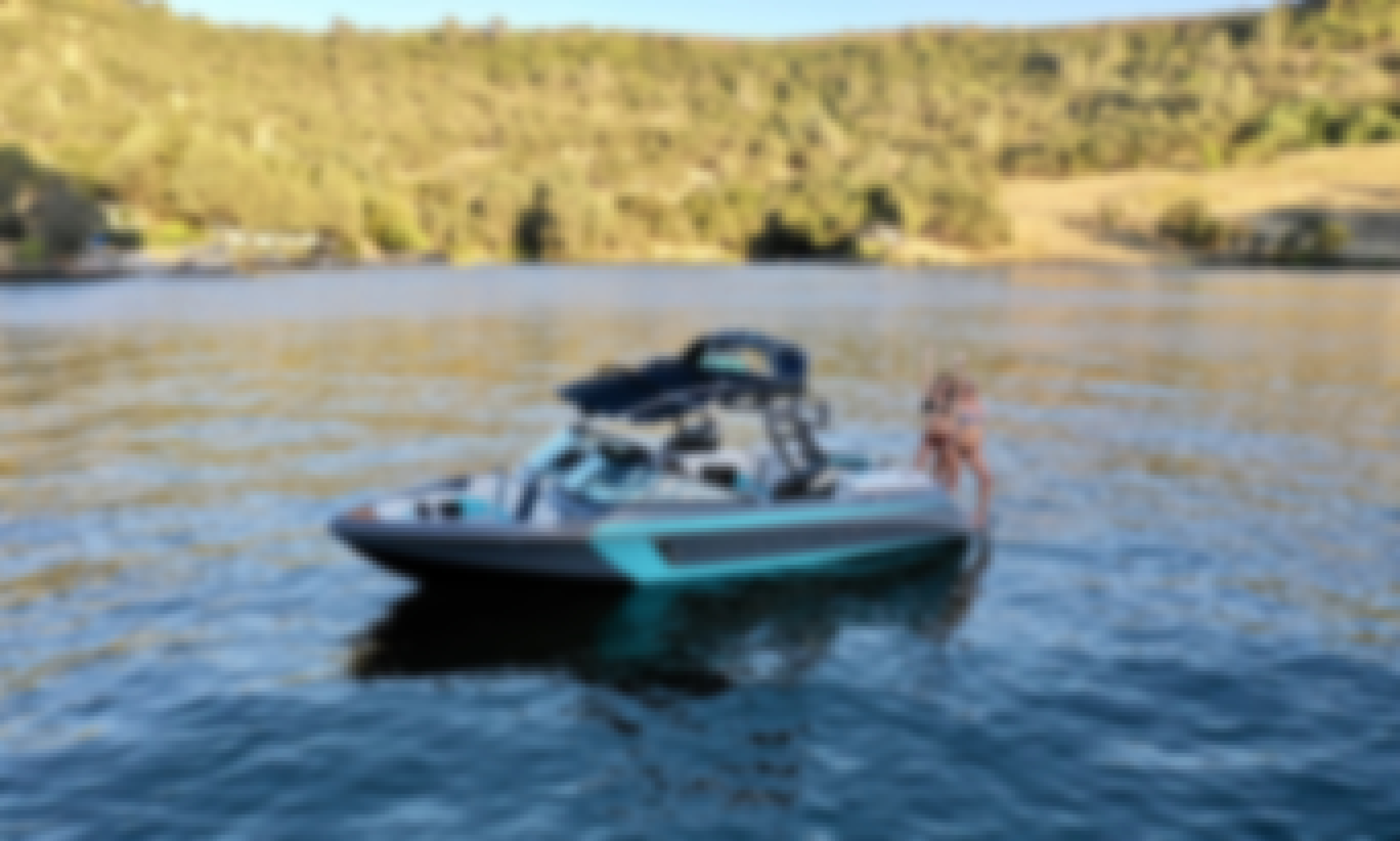 NEW Super Air Nautique 210 for Charter on Lake Tulloch