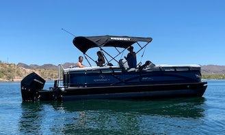 24ft Luxury Pontoon 250 HP on Beautiful Lake Pleasant