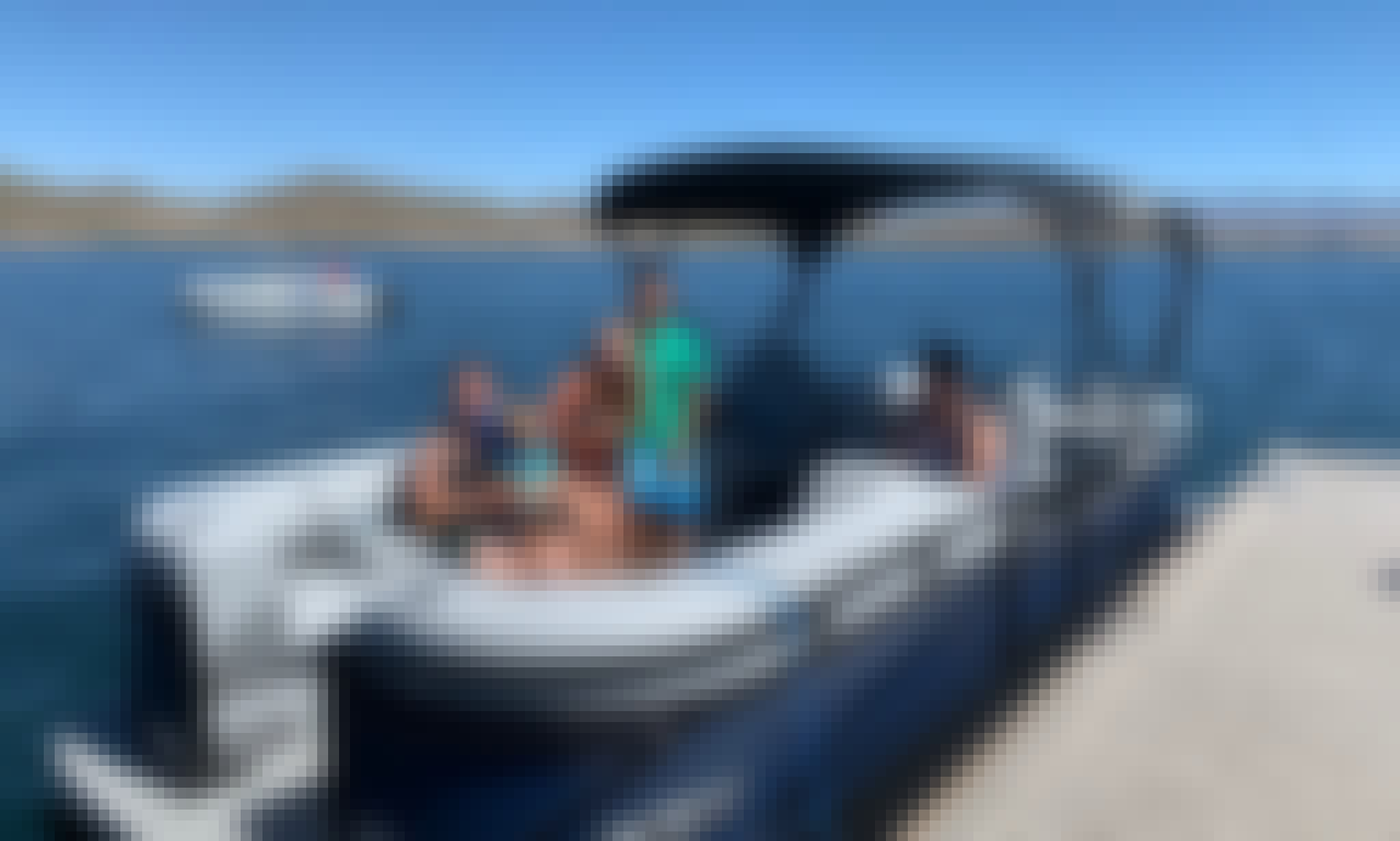 2020 24ft Luxury Pontoon 250 HP on Beautiful Lake Pleasant