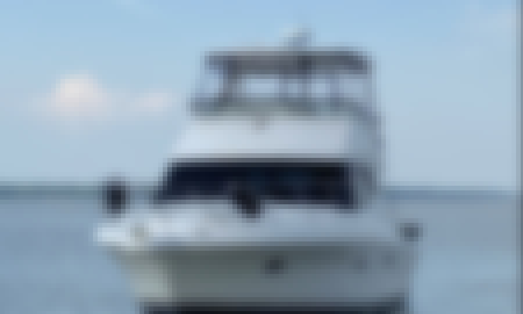 Silverton Flybridge Yacht For Charter in Colonial Beach, Virginia