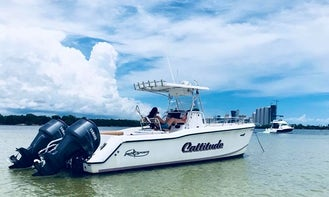 Center Console for Rent with Captain in Miami