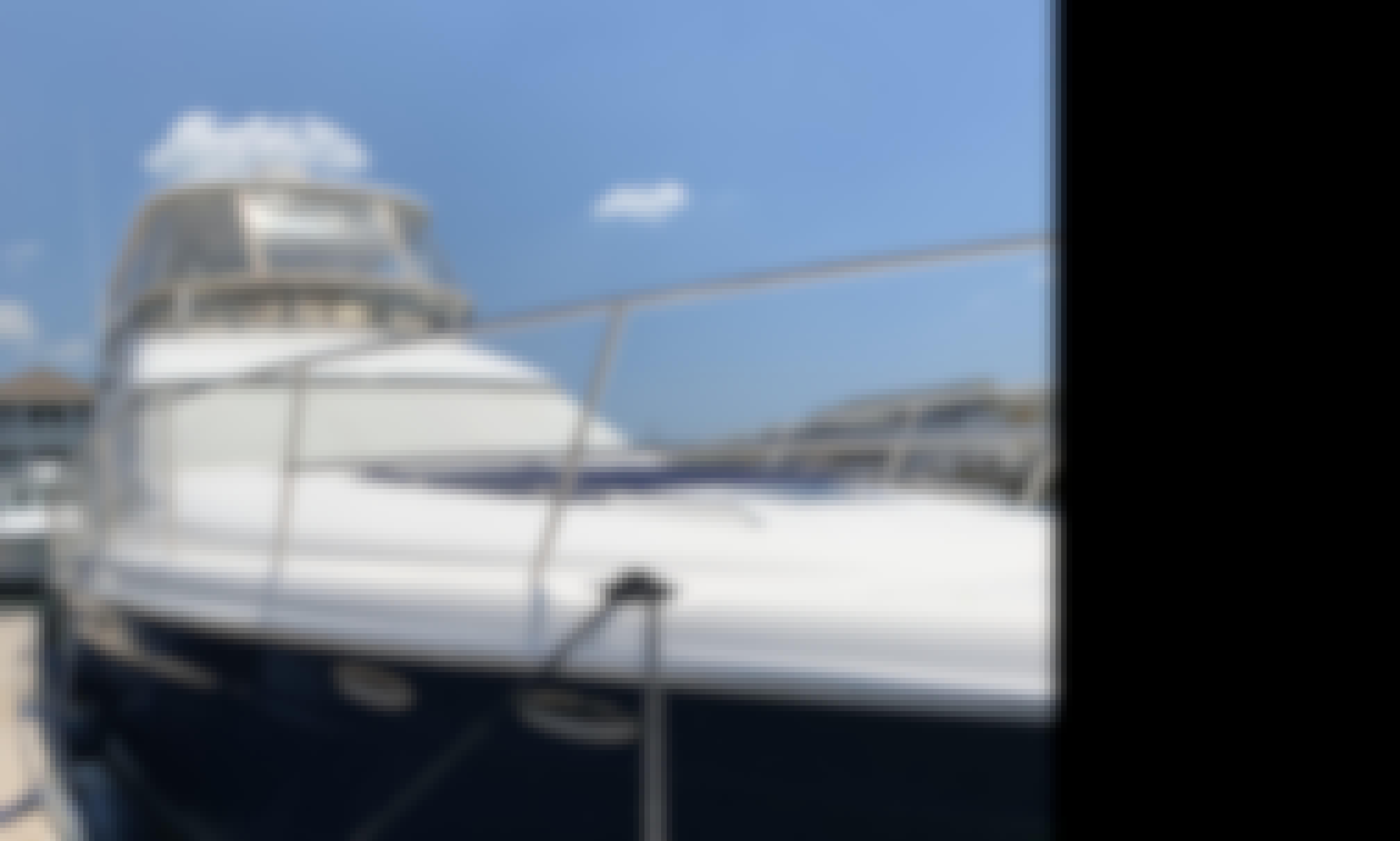 56' SeaRay Sedan Bridge Power Yacht Rental in Wrightsville Beach, NC