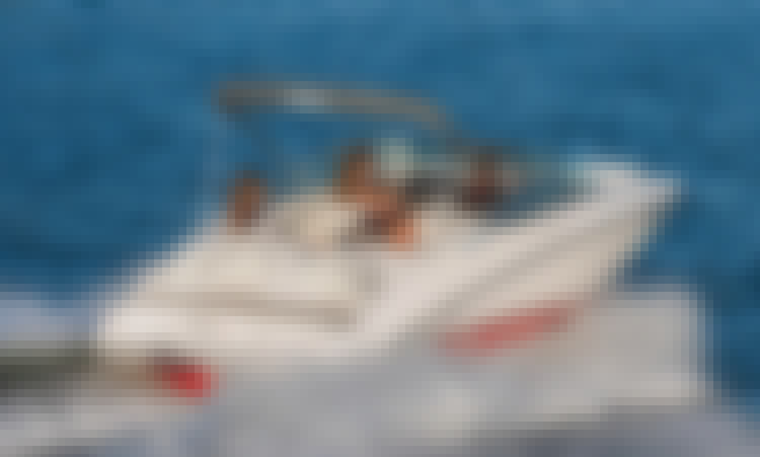 Hire this 2018 Yamaha Jet Boat Seats 8 with toys in Marina del Rey, California