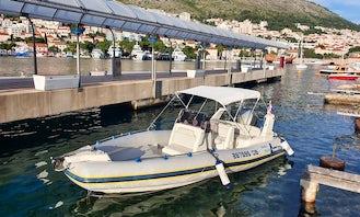 Rent This 7 People Marlin 20 Rib Center Console Dubrovnik, Croatia
