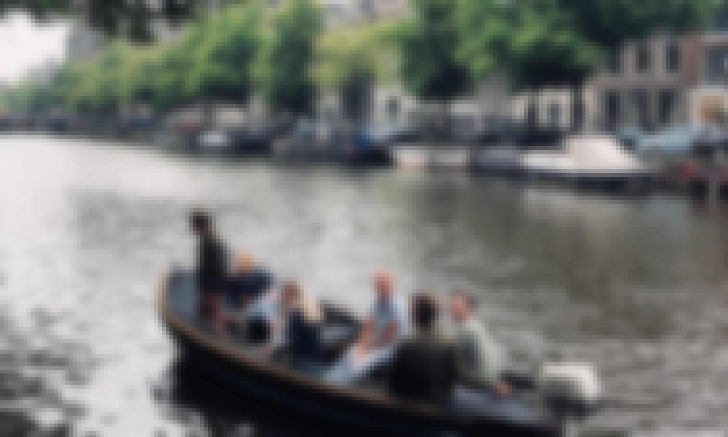 Rent a 18 ft steel canal boat for 9 people in Amsterdam, Netherlands