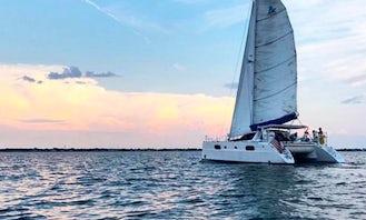 Sailing Catana 431 Catamaran Yacht in Folly Beach, South Carolina