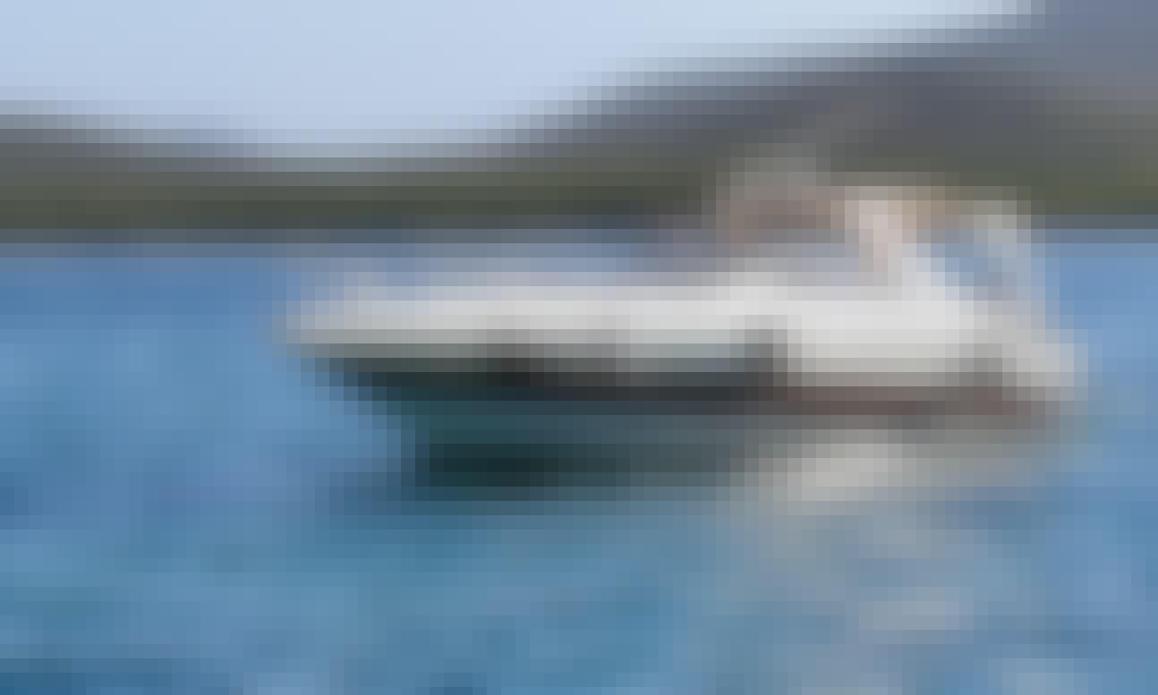 Explore Porto Rotondo and beautiful Costa Smeralda aboard a Sunseeker Portofino