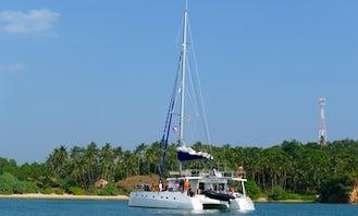 6 Night Cruises in Trincomalee, Sri Lanka onboard Ceycat 53' Range Catamaran (No bareboat charter)